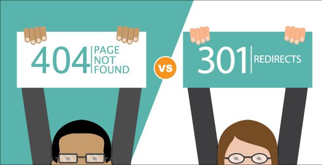 Hướng dẫn Tìm kiếm trang lỗi 404 và sử dụng 301