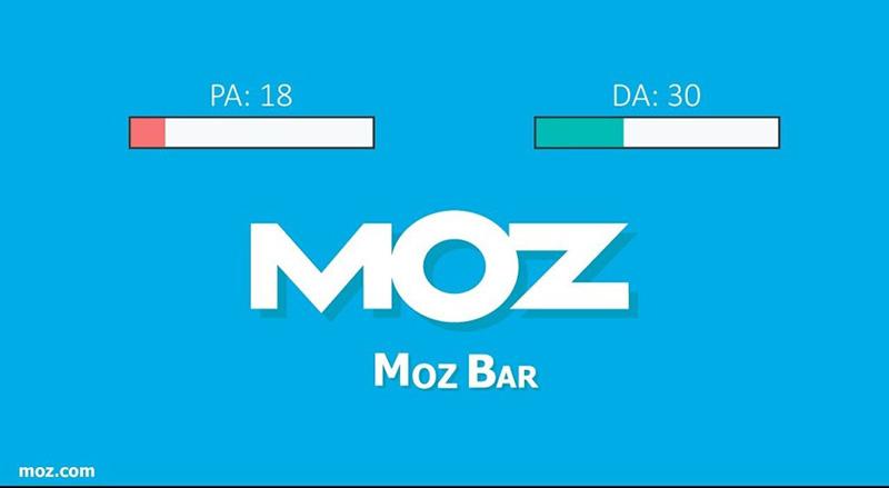 Hướng dẫn sử dụng MozBar
