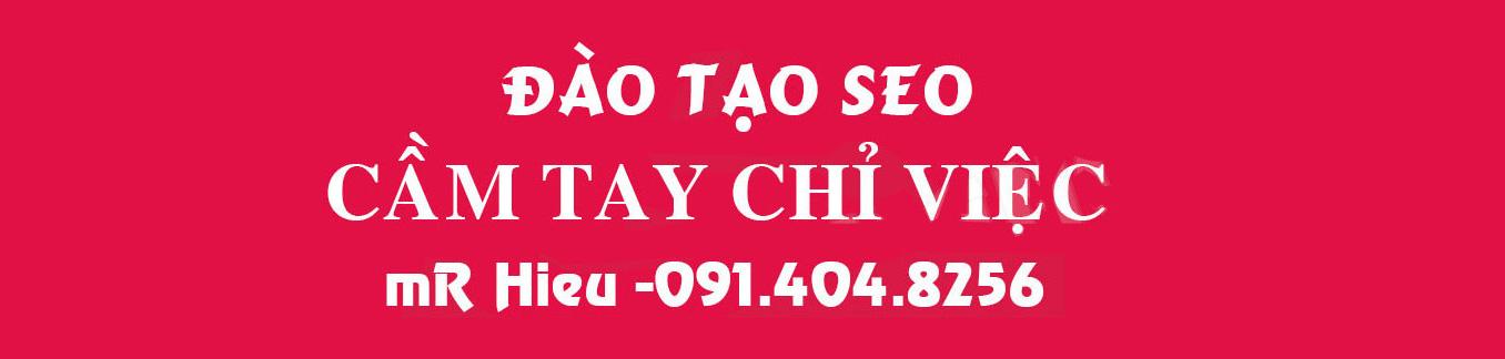 Khóa học seo giá rẻ 1 kèm 1 tại Hà Nội – Đào tạo seo Mr Hieu